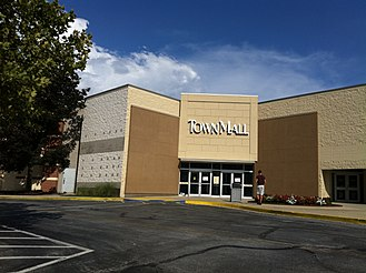 TownMall of Westminster - Entrance to TownMall of Westminster, August 2011