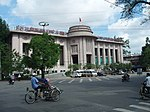State Bank of Vietnam building in Hanoi with French art-deco architecture