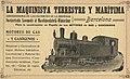 Train ad in 1915, de- Anuario de ferrocarriles españoles. 1915 (page 7 crop).jpg