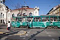 Tram in Sofia near Central mineral bath 2012 PD 081.jpg