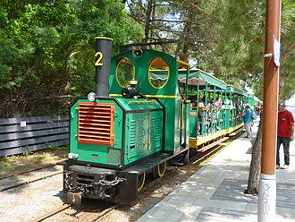 Tramway du Cap-Ferret - Train at Belisarius