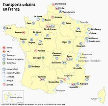 Liste des tramways de france wikip dia - Les villes les plus endettees de france ...