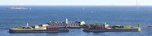 Trekroner Fort - Trekroner fort seen from Copenhagen harbour