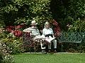 Trelissick Garden, A Welcome Rest. - geograph.org.uk - 211403.jpg