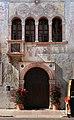 Trento, palazzo geremia, con affreschi di scuola veronese o vicentina del 1490-1510 ca. 02,2.jpg
