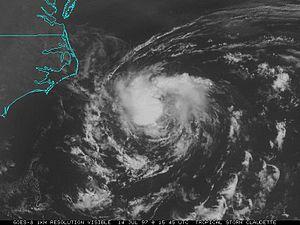 1997 Atlantic hurricane season - Image: Tropical Storm Claudette (1997)
