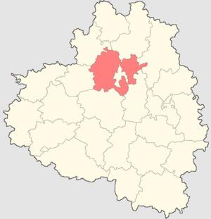 Leninsky District, Tula Oblast - Image: Tulskaya oblast Leninsky rayon