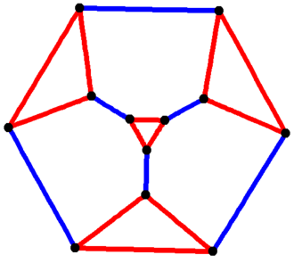 Vertex-transitive graph - The edges of the truncated tetrahedron form a vertex-transitive graph (also a Cayley graph) which is not symmetric.