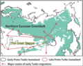 Turkic origin and expansion.png