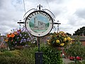 Tuttington Village Sign, Norfolk - geograph.org.uk - 1637984.jpg
