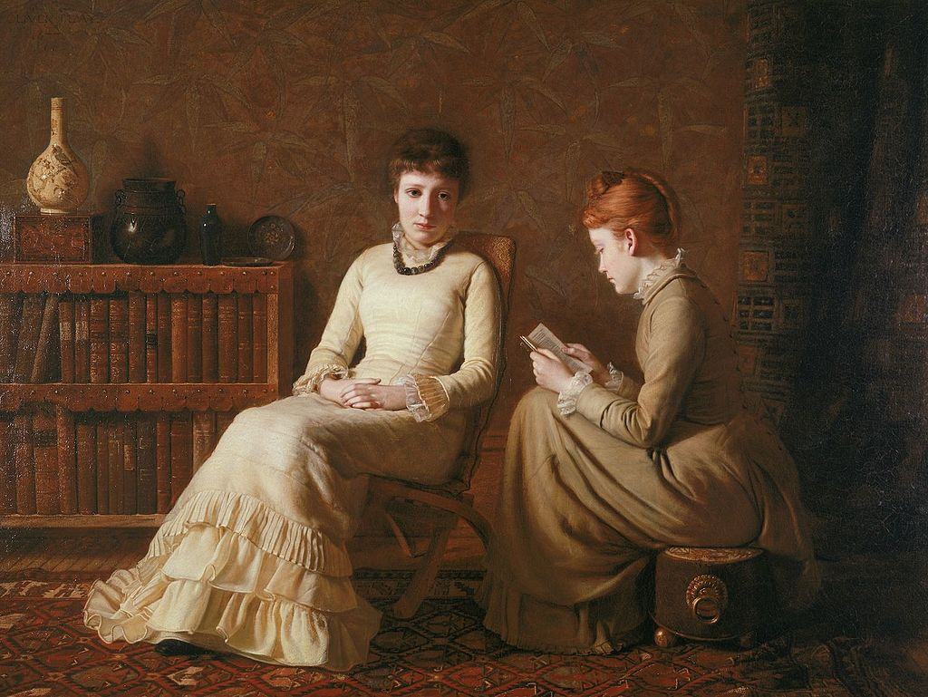 Two Friends by Oliver Ingraham Lay (1877).jpg