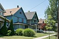 Two duplexes - 3600 block - Archwood Avenue Historic District.jpg
