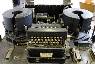 Rotor machine - Typex was a printing rotor machine used by the United Kingdom and its Commonwealth, and was based on the Enigma patents.