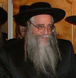 Tzanz-Klauenberger Rebbe Netanya
