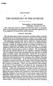 U.S. Department of the Interior Annual Report 1879.djvu