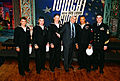 U.S. Navy submariners from USS Helena (SSN 725) with Jay Leno.jpg