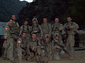 U.S. Soldiers with Bravo Troop, 3rd Squadron, 61st Cavalry Regiment, 4th Brigade Combat Team, 4th Infantry Division pose for a photo after a mission in Afghanistan in 2009 091004-A-ZZ999-144.jpg