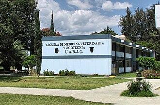 Benito Juárez Autonomous University of Oaxaca - Image: UABJO school of veterinary medicine, Oaxaca
