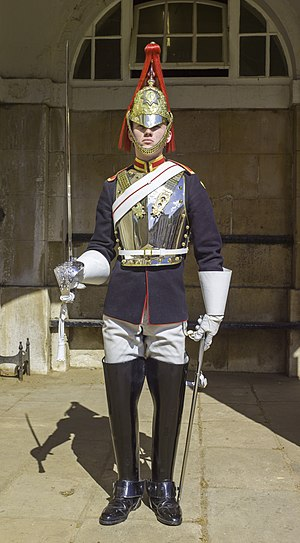 Blues and Royals - Blues and Royals trooper