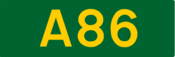 A86 road shield