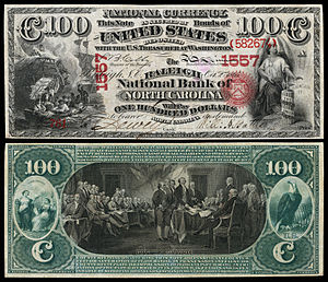 $100 National Bank Note