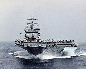 Bugansicht der USS Enterprise (CVN-65) (1998)