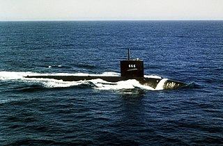 USS <i>Hawkbill</i> (SSN-666) Sturgeon-class attack submarine of the United States Navy