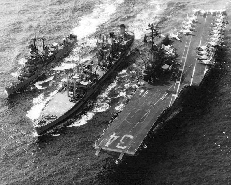 USS Oriskany (CVA-34) and USS Morton (DD-948) replenishment 1974.jpeg