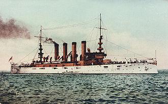 USS Pennsylvania (ACR-4) - Image: USS Pennsylvania (CA 4)