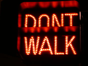"Traffic Signal ""Don't Walk"", New Yor..."