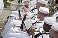 US Navy 050521-N-9851B-001 The Seventh Fleet Band performs before a wreath laying ceremony commemorating the arrival of Commodore Matthew Perry in Japan, at Shimoda Park in Shimoda, Japan.jpg