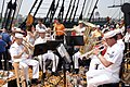 US Navy 050611-N-8946D-107 Navy band members perform on the main deck of USS Constitution, Old Ironsides, during Navy Week Boston.jpg