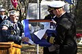 US Navy 051207-N-8907D-007 Capt. Stephen C. Nimitz, guest speaker for the 64th annual Pearl Harbor Survivor Association's (PHSA) memorial service held aboard Naval Amphibious Base Little Creek.jpg