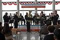 US Navy 060131-N-1194D-006 The Seventh Fleet Band's brass quintet Shonan Brass plays during a special goodwill concert.jpg
