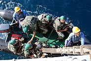 US Navy 071125-N-6794Z-002 Members of the Pakistan Navy Special Service Group board a rigid hull inflatable board launched from Pakistan Navy Ship (PNS) Babur while underway in the Arabian Sea