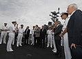 US Navy 100613-N-3705H-013 Capt. Joseph Clarkson, commanding officer of the Nimitz-class aircraft carrier USS Harry S. Truman (CVN 75),.jpg