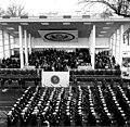 US military units pass in review at JFK inaugural parade.jpg