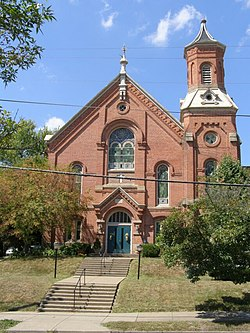 United Methodist Church Millersburg Ohio Wikipedia