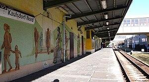 Kaulsdorf-Nord (Berlin U-Bahn) - Platform of the station