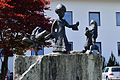 Uderns - Skulptur Der kleine Prinz vor der Volksschule.jpg