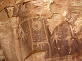 Uinta Fremont Indian petroglyph (~1000 years old) (Dinosaur National Monument, Utah, USA) 31 (22328586894).jpg