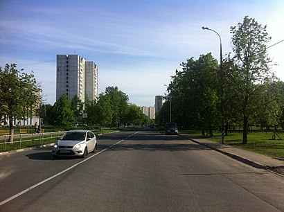 How to get to Улица Гурьянова with public transit - About the place