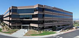 het hoofdkantoor van ULA in Centennial