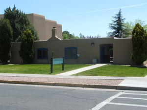 Dispute Resolution building at UNM.