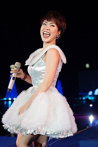 Vietnam Idol - Uyen Linh, season three winner