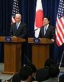 VP Joe Biden and Japanese PM Shinzo Abe 2013 (4).jpg