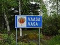 Vaasa municipal border sign 20190603.jpg