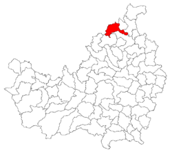 Location of Vad
