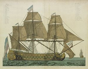 French ship Ville de Paris (1764) -