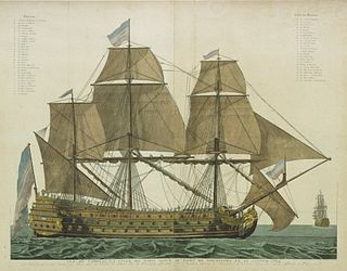 French ship <i>Ville de Paris</i> (1764) 1764 ship of the line of the French Navy